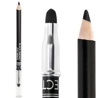 Черен молив за очи за опушен грим
